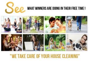 we take care of your house cleaning