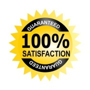 Seal 100% satisfaction guarantee